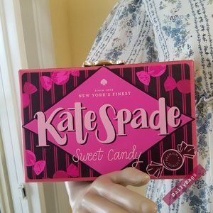 KATE SPADE CANDY WRAPPER CLUTCH PINK